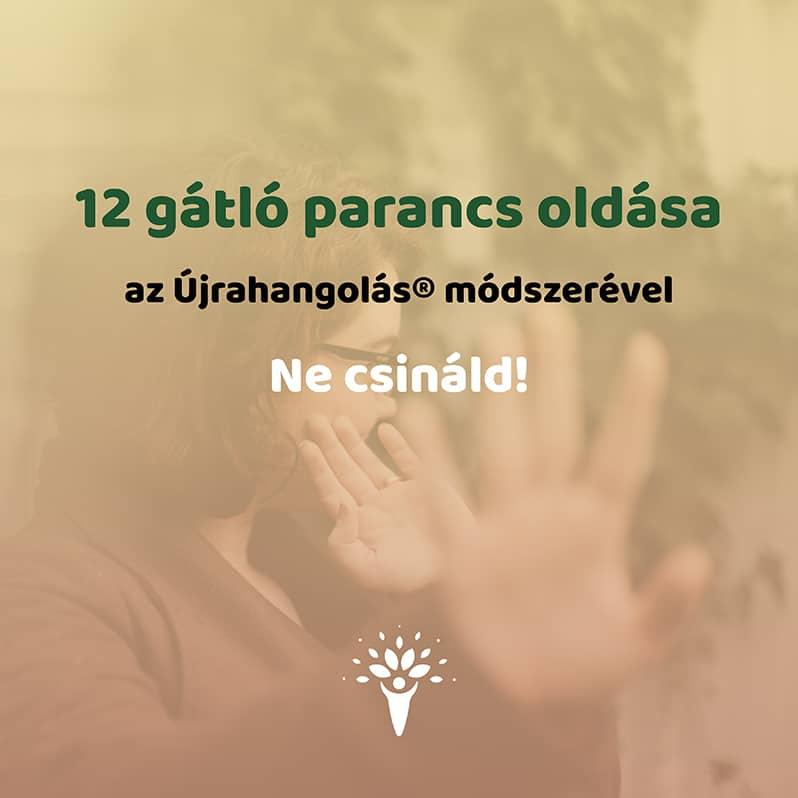 12 gátló parancs Újrahangolás