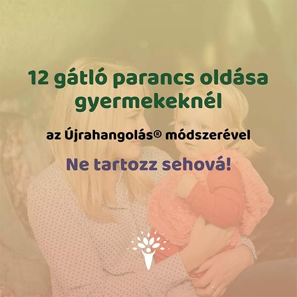 12 gátló parancs hanganyagok Újrahangolás / ne tartozz sehová gyermek